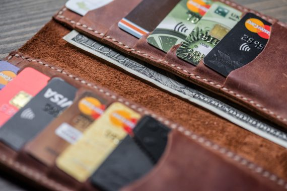 long card wallet