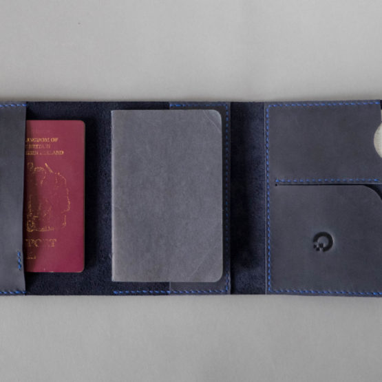 passport and pen holder