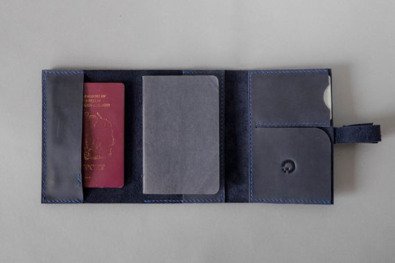 passport and pen holder