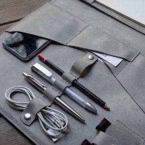 leather tec folder
