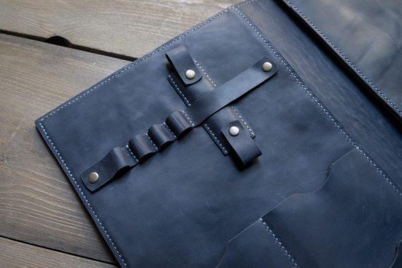 leather folio