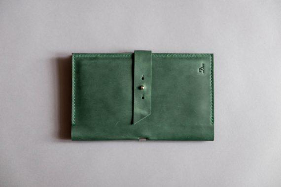 monogrammed passport wallet