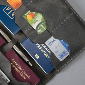 US passport wallet