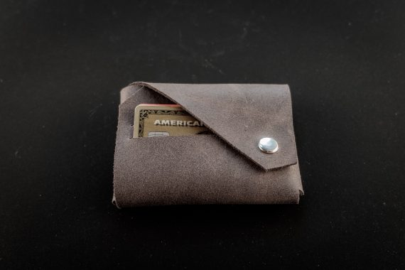 coin leather wallet