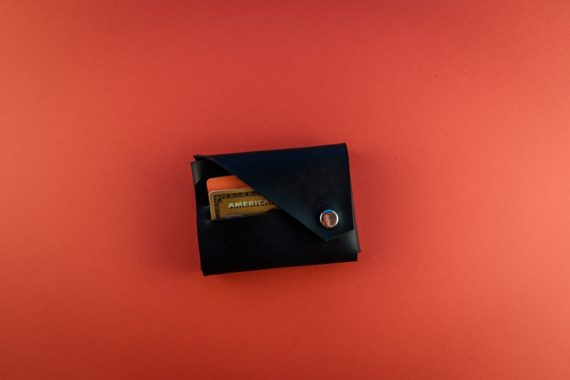 black coin wallet