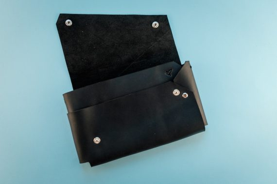 leather evening bag