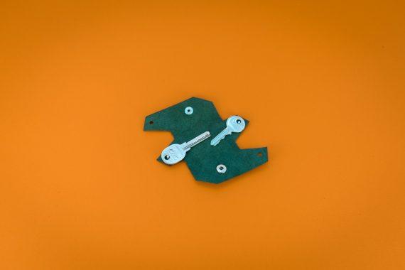 origami keychain