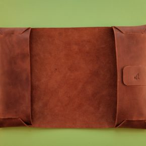 leather A4 journal cover