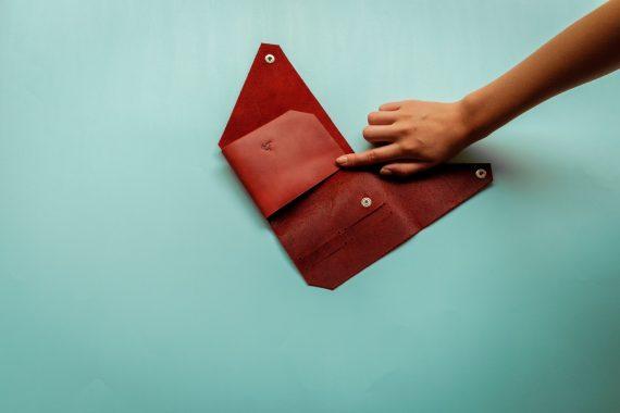origami passport cover