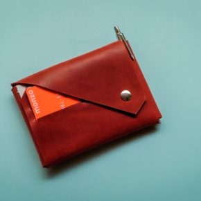 leather origami