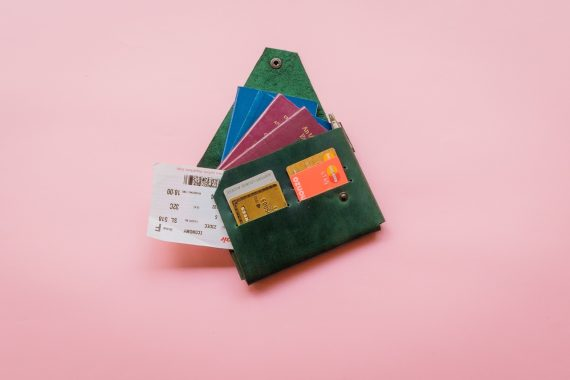 origami leather goods