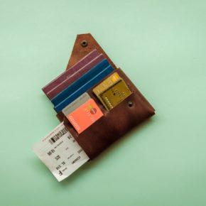 leather family passport holder