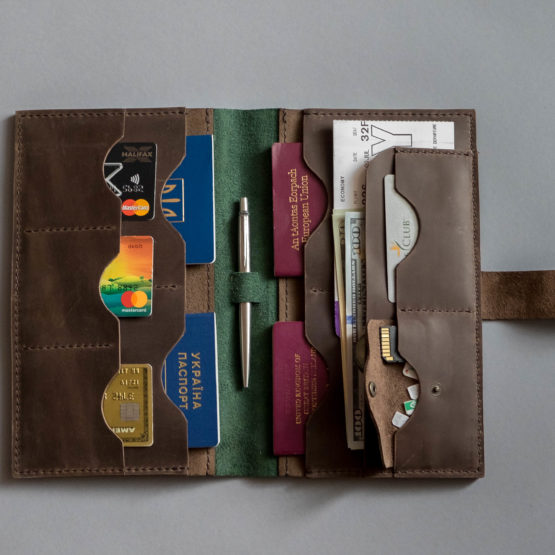 travel wallet with sim card pocket