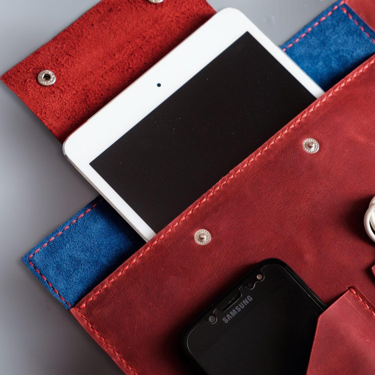 folder with ipad pocket