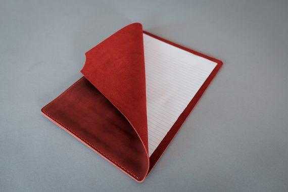 red document holder