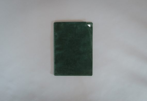 green document folder