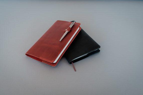 leather moleskin cover